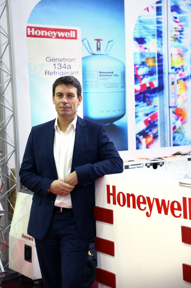 Julien Soulet, managing director for Honeywell Fluorine Products in Europe, Middle East, Africa and India