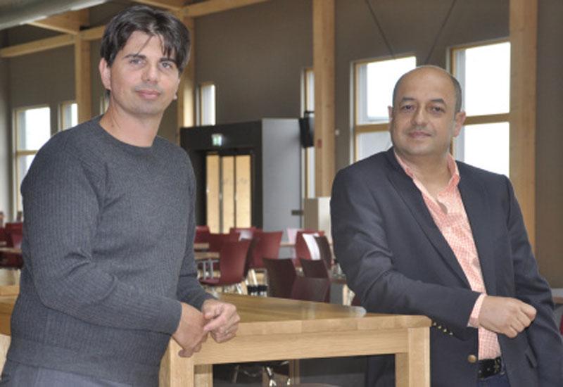 Managing Directors of juwi Renewable Energies FZCO: Luca Sacchetti (L) and Yasser Gami