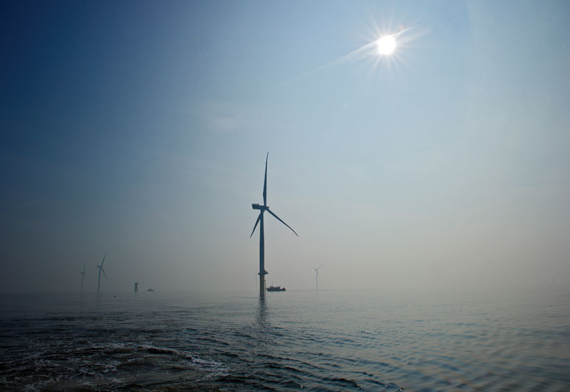 When completed, the first phase of the London Array project will have a 630MW output.