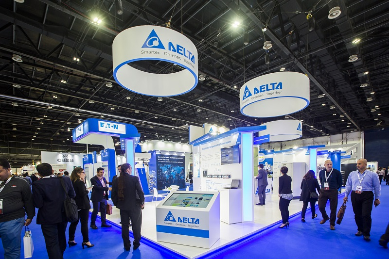 Delta promoted during the Middle East Electricity Exhibition 2017, its smart, green products and solutions, capable of facilitating energy savings in a wide range of industrial and commercial applications.