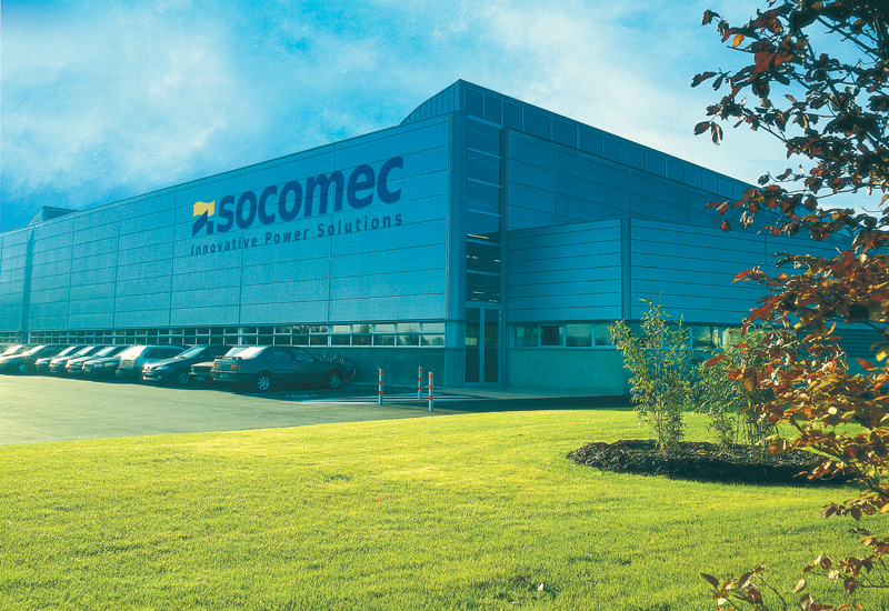 Socomec is a French company that works in the Middle East through a network of agents.