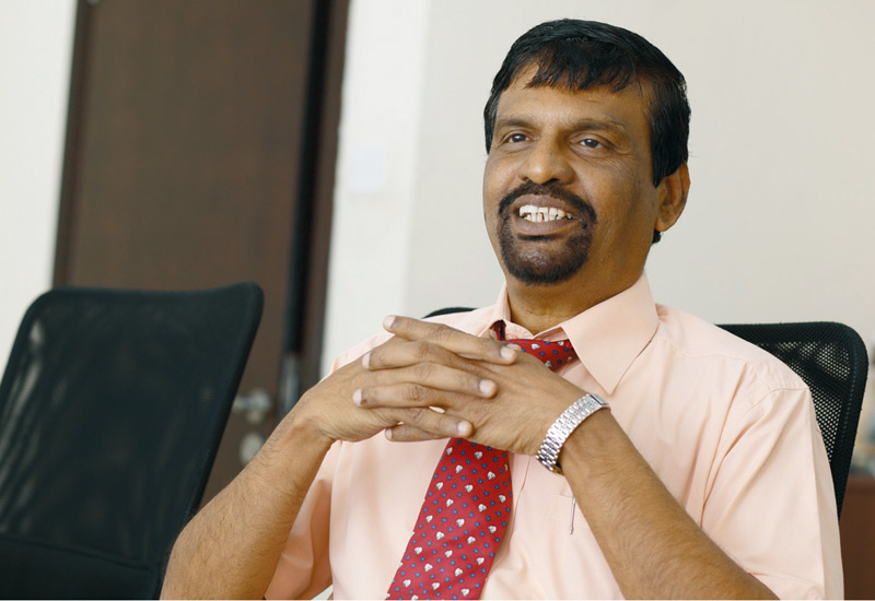 Paneer Selvam, marketing manager for Emirates Transformers is seeing the market pick up.
