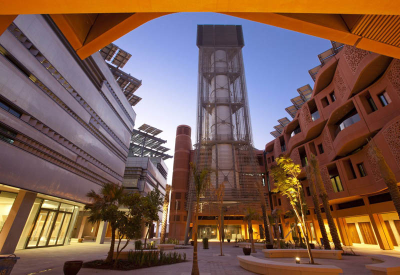 Masdar City, visited by Japan's Minister of Foreign Affairs.