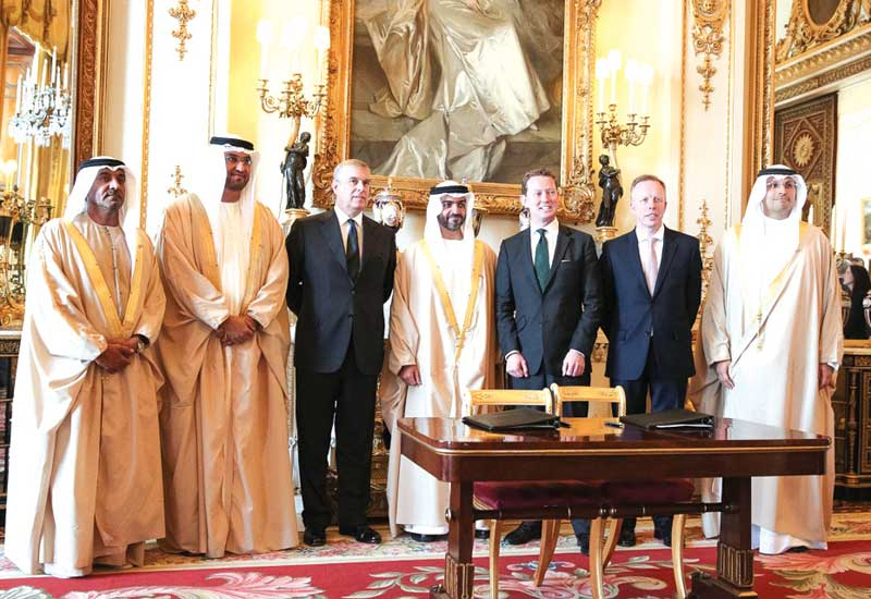 The agreement will see Masdar and the Green Investment Bank look at new renewables opportunities.