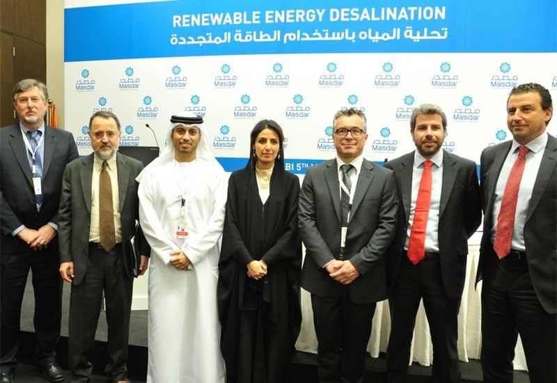Four companies will each build a trial solar desalination plant.