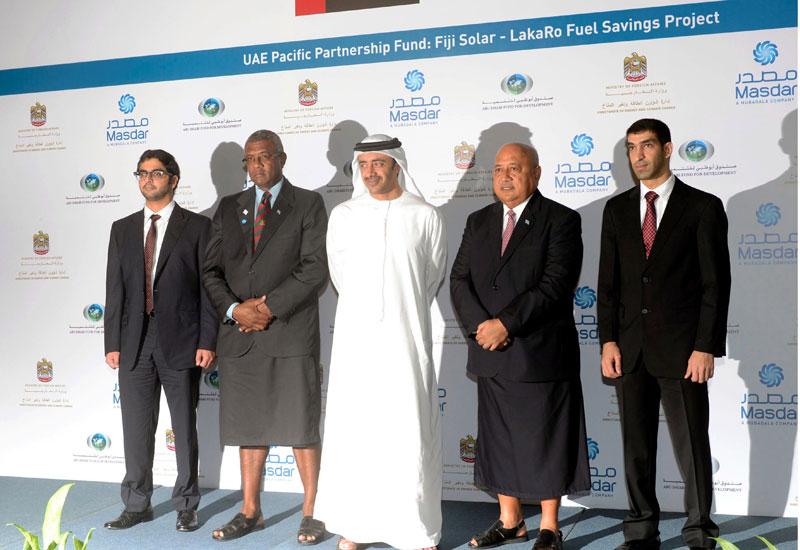 Fiji, Masdar, Renewable, Solar, News