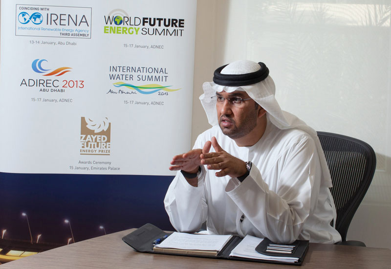 Masdar CEO Dr Sultan Ahmed Al Jaber.