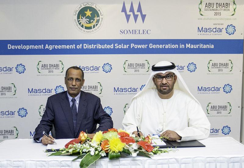 Masdar, Mauritania, PV, Solar, News