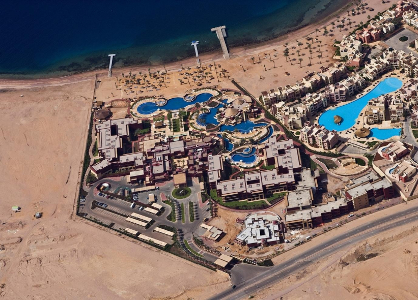 One of the Movenpick resorts to be equipped with a solar water heating system.