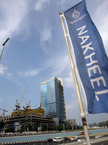 International City owner Nakheel said the effluent emerged from a burst pipeline.