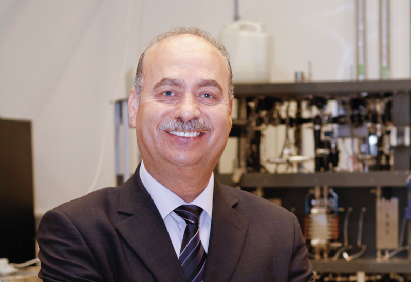 Dr Nidal Hilal, Professor in Nano-Membranology and Water Technologies, Masdar Institute.