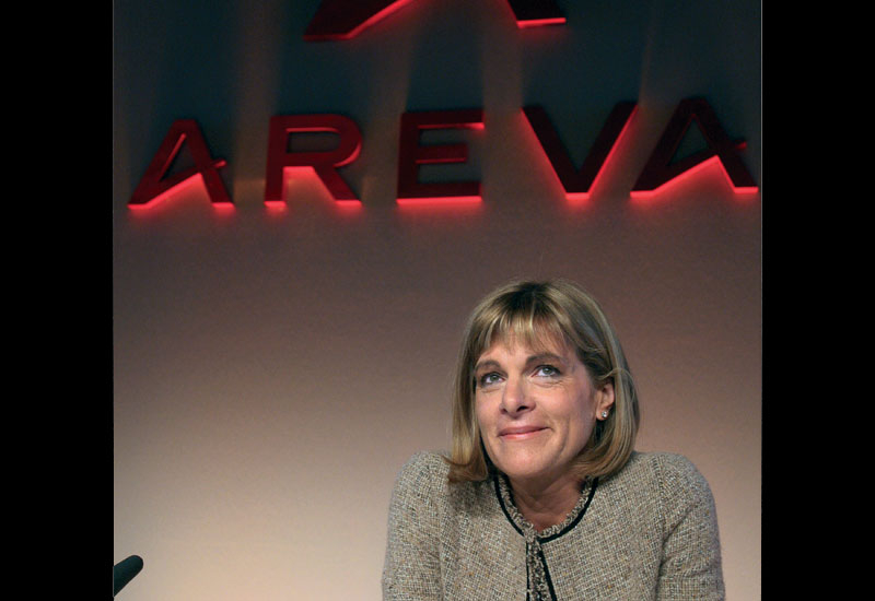 Anne Lauvergeon, CEO of French nuclear group Areva smiles during a press conference to present the 2008 financial results in February.
