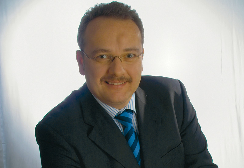 Dr Michael Seibold, Hauff Technik MD.