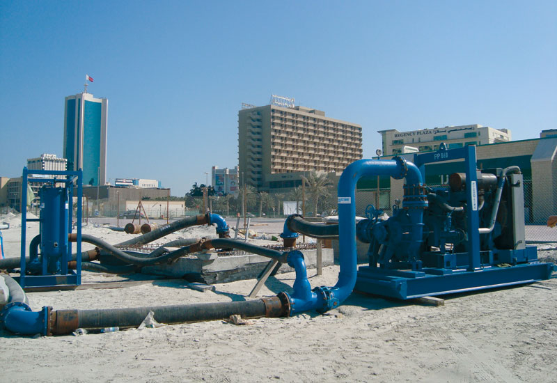 Flushing is seen as an effective way of removing contaminants from a system's pipelines.