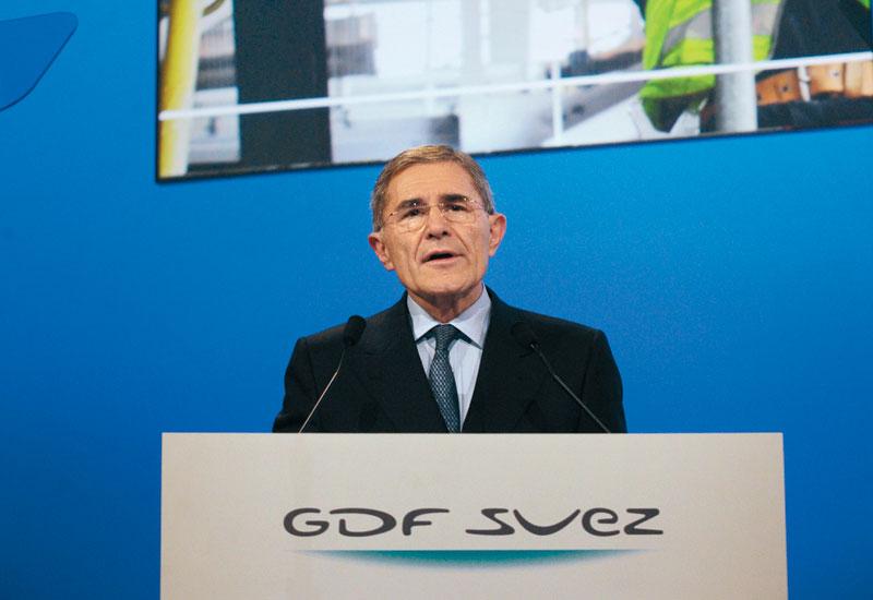Gerard Mestrallet, CEO of GDF Suez, which has a 20% stake in Ras Girtas.