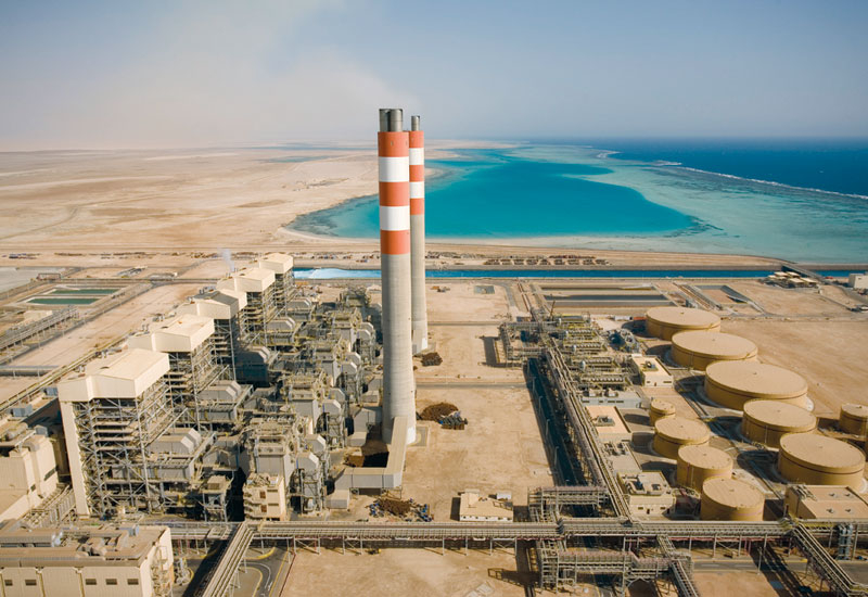 The steadily expanding Shuaiba facility is located 100km south of Jeddah.