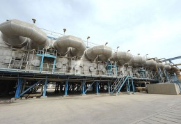 The 164,000-cubic-meter-per-day facility will produce 10 per cent of Qatar's water.