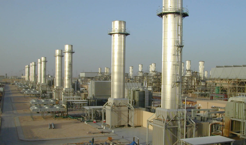 SEC's PP9 power plant just outside of Riyadh.