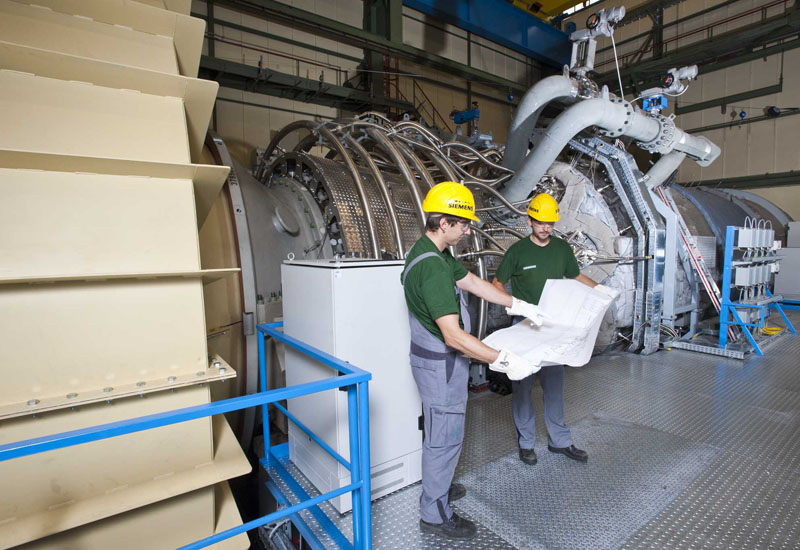 Siemens record efficiency turbine fired up in Germany.