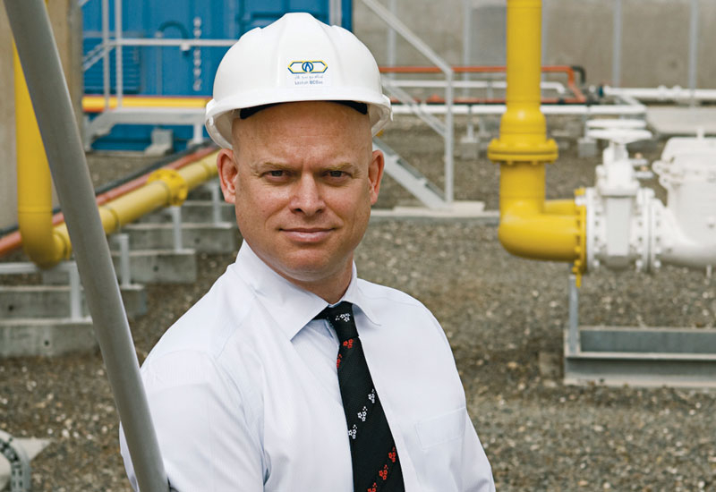 Denis Lefrancois of Lootah BCGas has seen the company 'pioneer' local gas networks.