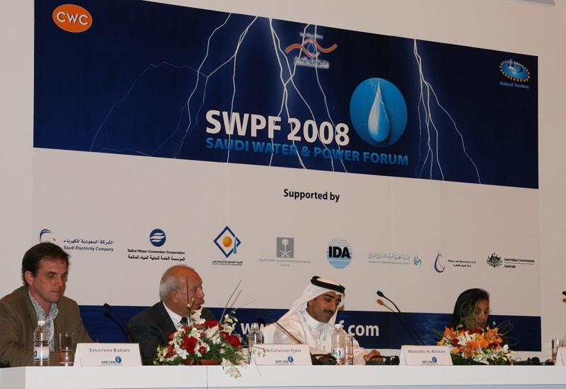 Panellists at last year's Saudi Water & Power Forum.