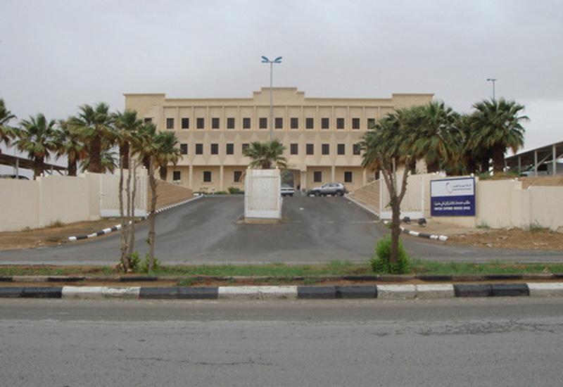 The headquarters of Saudi Electricity Company, in Riyadh.