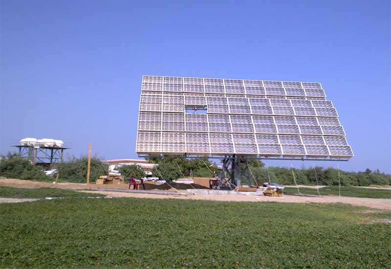 The plant will meet the needs of 100,000 people living in the town of Al-Khafji