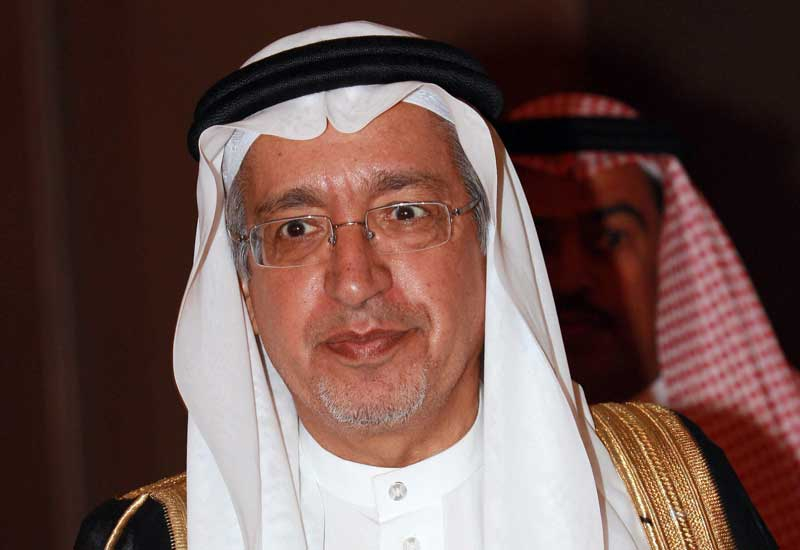Saudi Arabia's Minister of Water and Electricity Abdullah bin Abdulrahman Al-Hossein