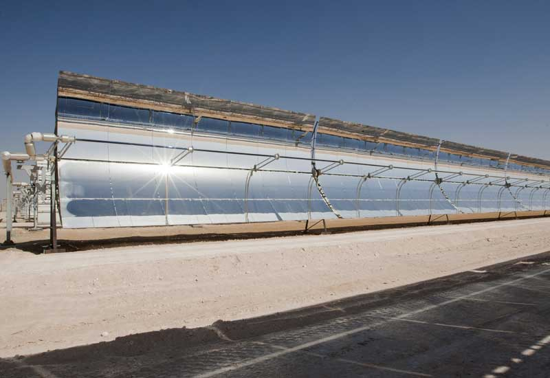 Abu Dhabi's Shams 1 is one of the largest CSP plants in the world.