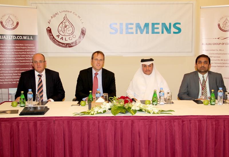 Siemens signe low-voltage deal in Qatar.