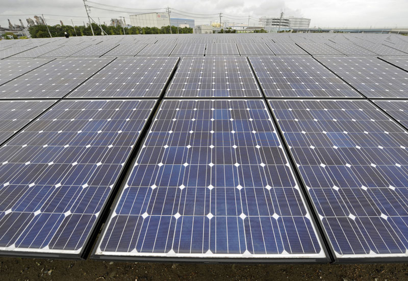 The project has seen the installation of 12,684 panels across a 55,000 square metre site. (GETTY IMAGES)