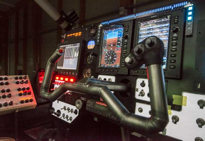 The flight deck of the Solar Impulse 2