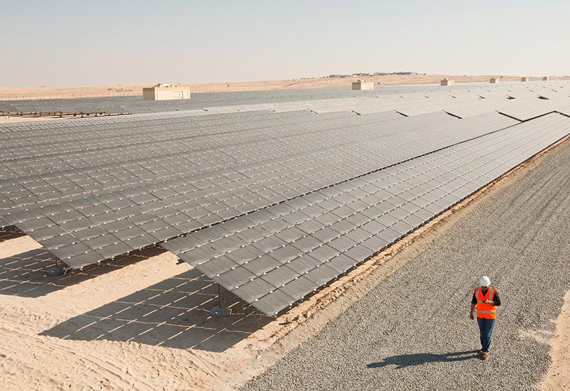 Dubai's solar pilot project