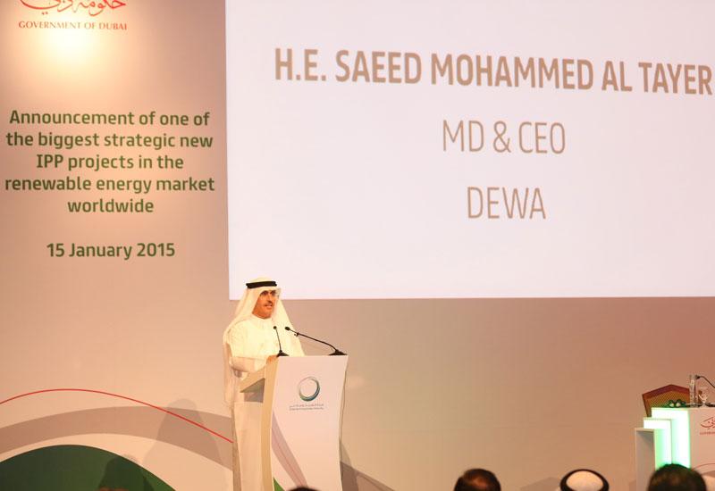AL Tayer announces ACWA as preferred bidder