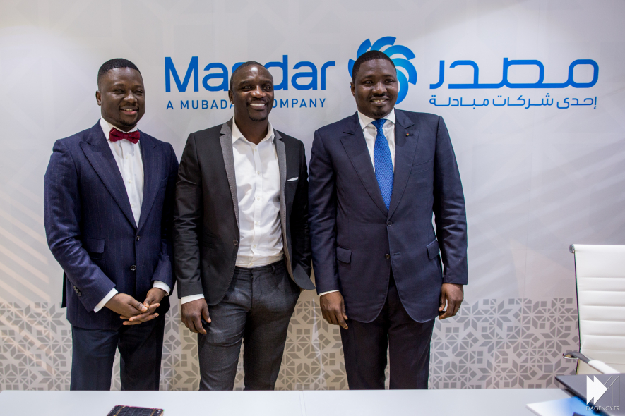American singer Akon is driving solar adoption across Africa along with his colleagues, Samba Bathily and Thione Niang