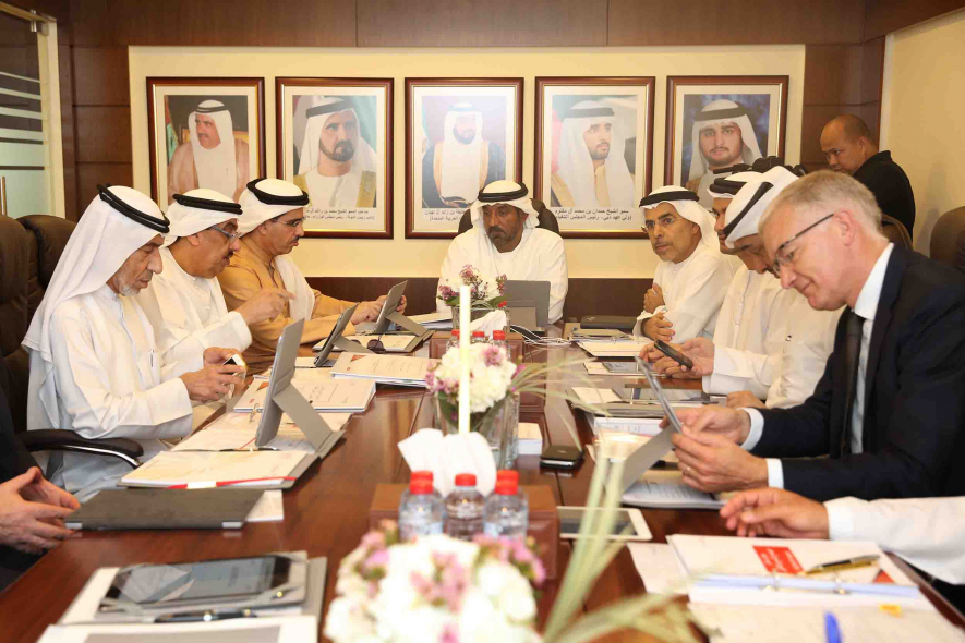 The Dubai Supreme Council of Energy reviewed district cooling regulations