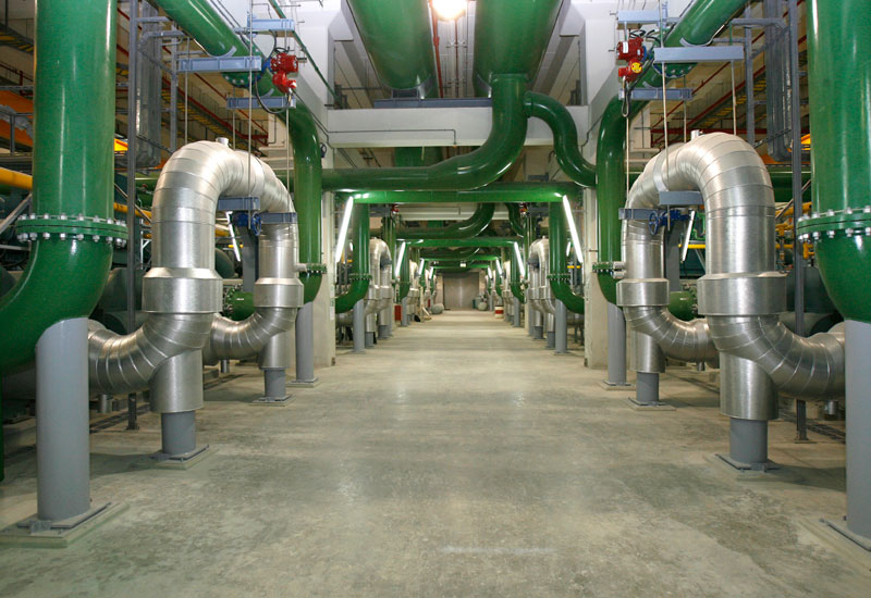 Distrcit cooling system installation, District cooling, Dubai parks, Tabreed, News