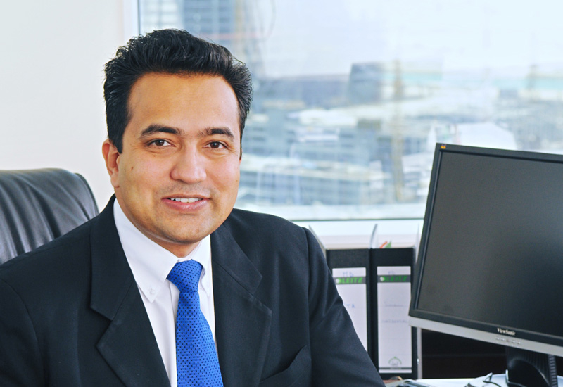 Tabreed CEO Sujit Parhar.