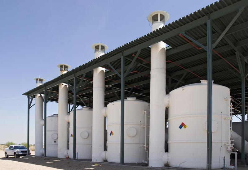 Siemens' carbon adsorbers in Saudi Arabia.