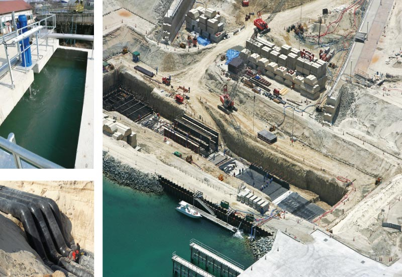 Work begins on the Dubai Jumeirah Beach Residence District Cooling System Project in 2005, which would ultimately provide 60,000 tonnes of cooling cap