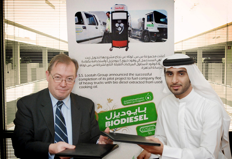 Mr. Yousif Lootah, Director, S.S. Lootah Group and Mr. Colin Bolton, Managing Director, Practical Energy.