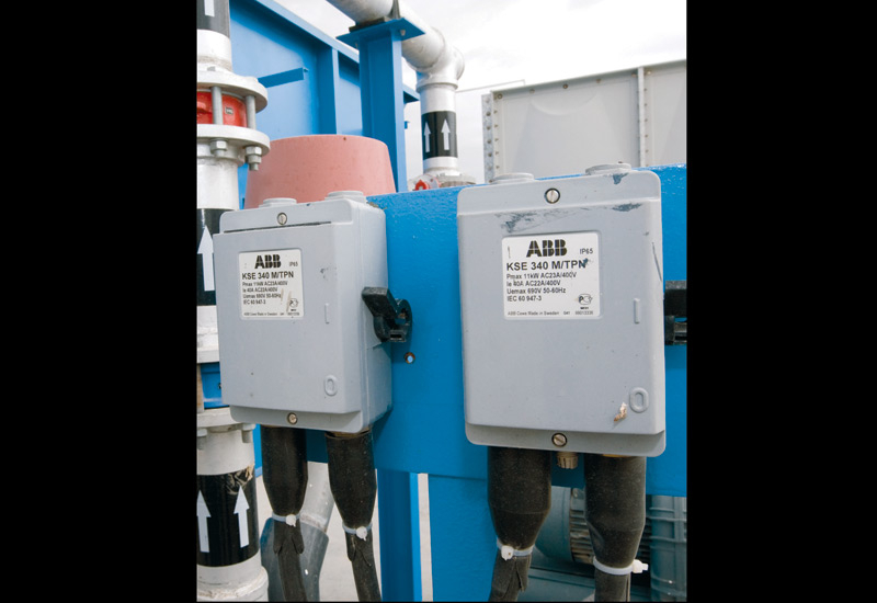 Huber Technology integrates equipment from well-known suppliers, such as ABB.