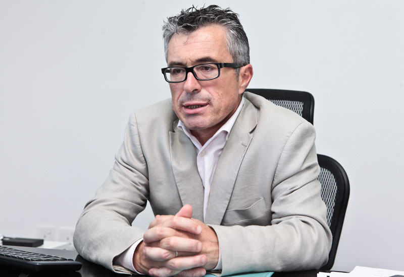 Xavier Joseph,  CEO of Gulf Countries, Veolia