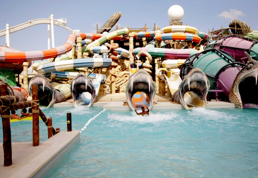 Tabreed will provide 2,473 RT of cooling services to the interior space of Yas Waterworld.