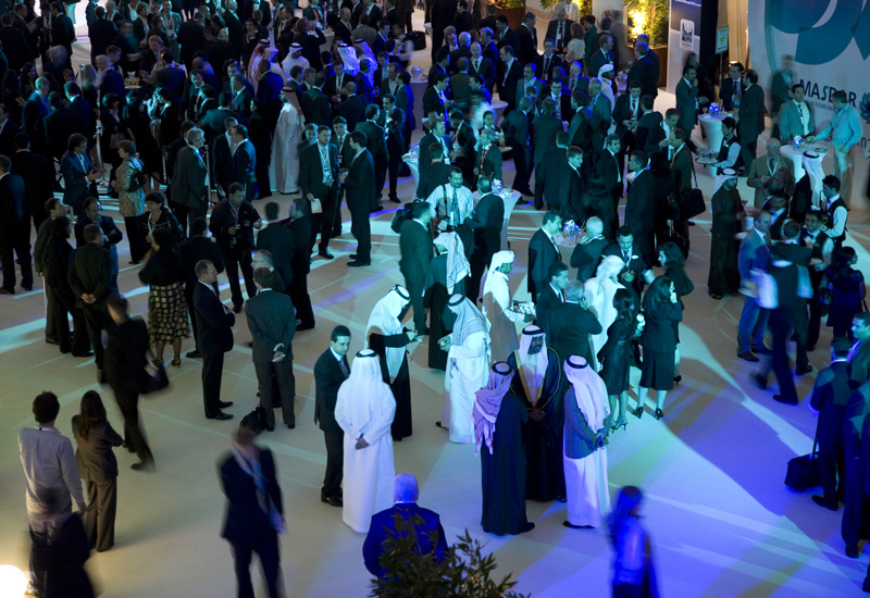 Attendees at the first Zayed Future Energy Prize, which was held in January this year.