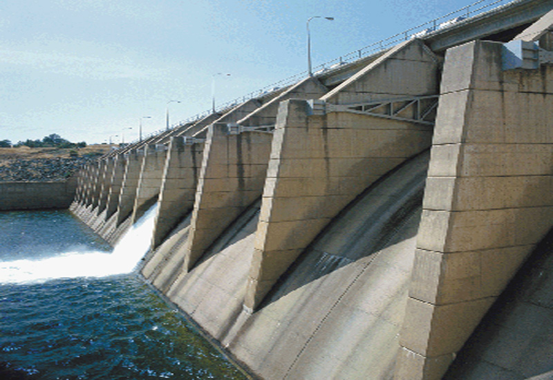 Al Ghafat water reservoir Dubai