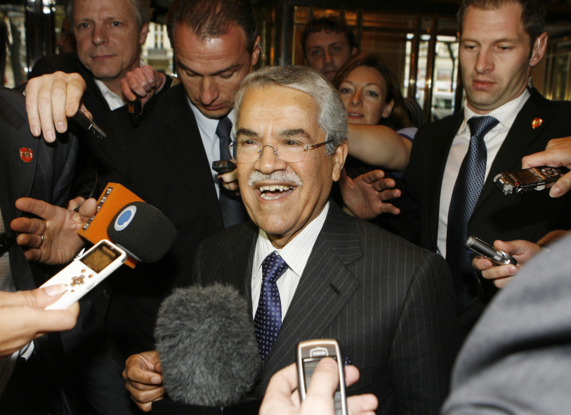 Saudi Minister for Petroleum and Mineral Resources Ali Al-Naimi. Courtesy of AFP/Reuters.