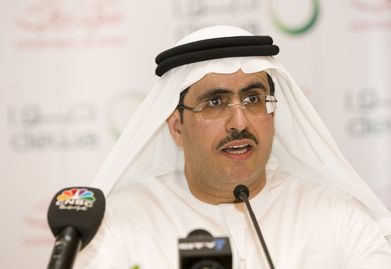 H.E. Saeed Mohamed Al Tayer, MD & CEO of Dubai Electricity and Water Authority.