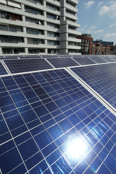 Rooftop solar installations are one aspect of Abu Dhabi's renewables drive.