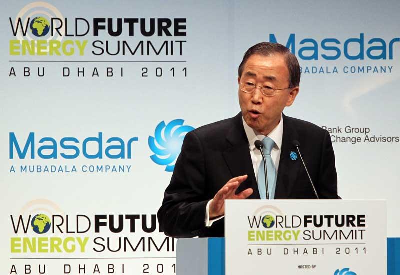 Ban Ki Moon, UN Secretary General, said Abu Dhabi is becoming justifiably renowned as a hub of progress.